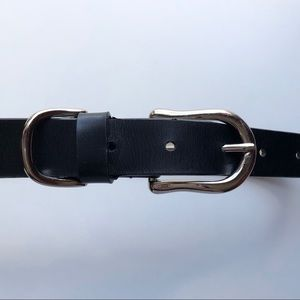 Sonoma Small Black Leather Belt